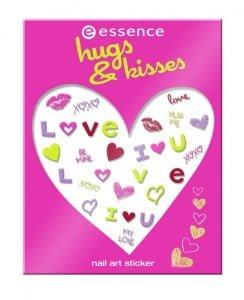 Essence Cosmetics Hungs and Kisses Nailart Sticker