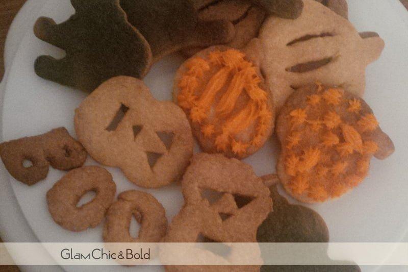 Halloween biscotti
