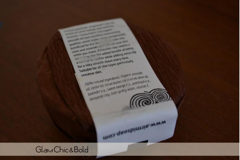 Ingredients shaving soap Airmid
