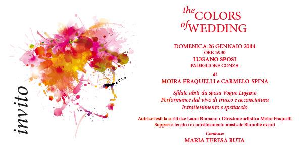 The colors of wedding Lugano Sposi 2014