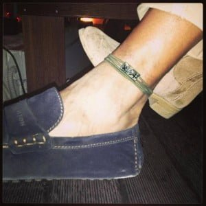 cavigliera da uomo/anklet for men