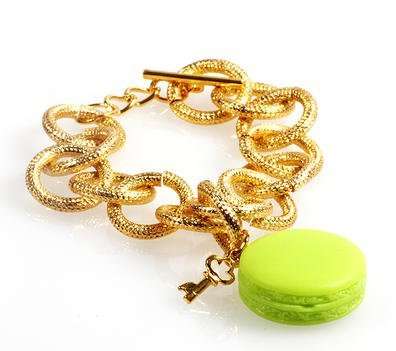 Secret of Macarons bracciale pistacchio