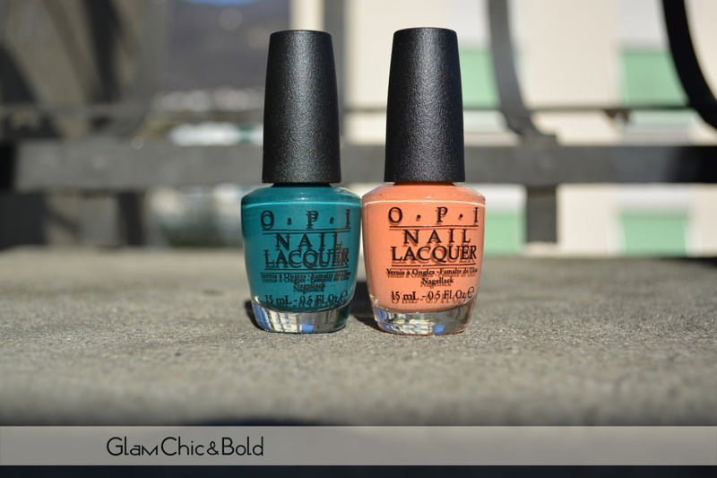 Brazil opi nail polishes