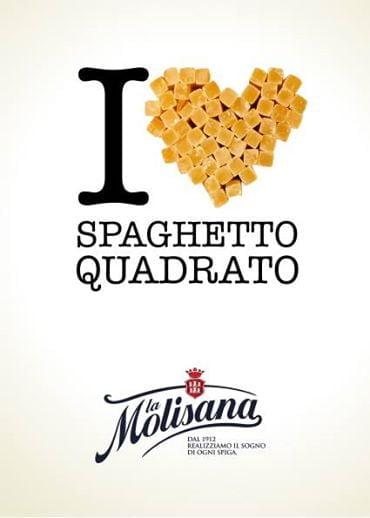 I Love Spaghetto Quadrato