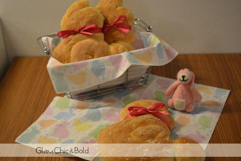 Ricetta Pasquale: conigli di pane