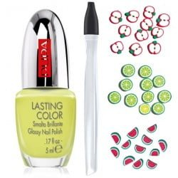 Pupa nail art Green Fruits