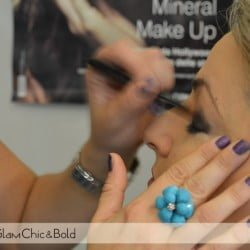 Emani makeup evento blogger