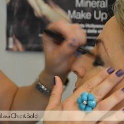 Emani makeup evento blogger