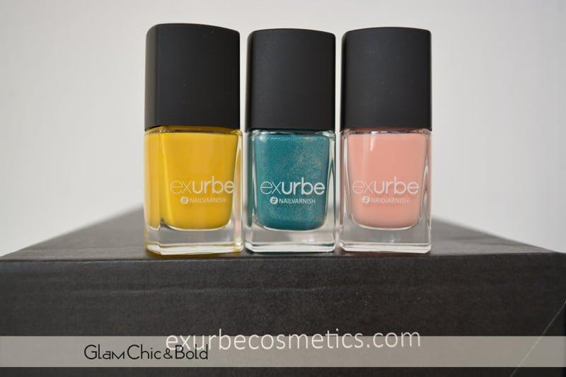 Exurbe Cosmetics nail polish