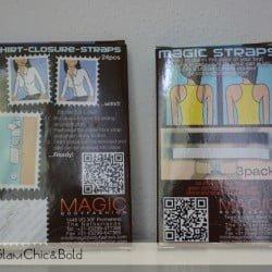 Magic Straps e Shirt-Closure Straps- Magic BodyFashion