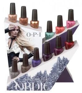 OPI Nordic Collection display
