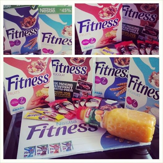 Nestlé Fitness colazione