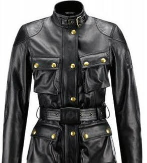 giacca moto donna