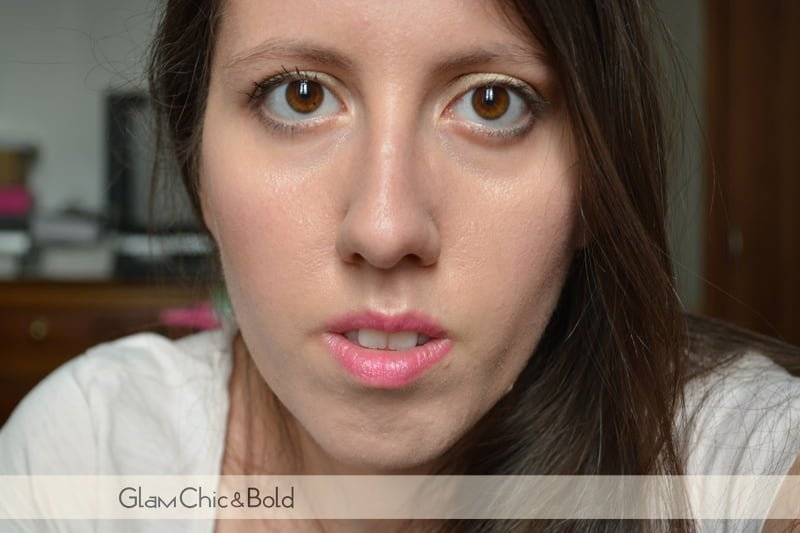 makeup metallico