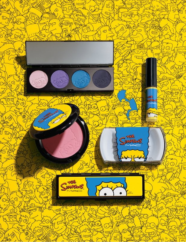 The Simpsons Mac Cosmetics