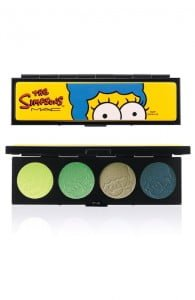 The Simpsons Mac Cosmetics eyeshadows palette