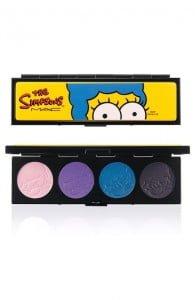 eyeshadow palette The Simpsons Mac Cosmetics