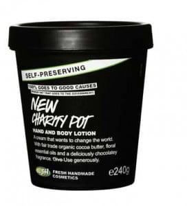 crema mani e corpo New Charity Pot Lush
