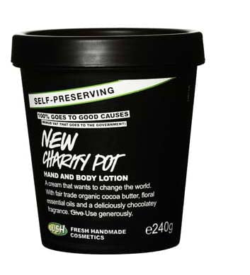crema mani e corpo New Charity Pot Lush