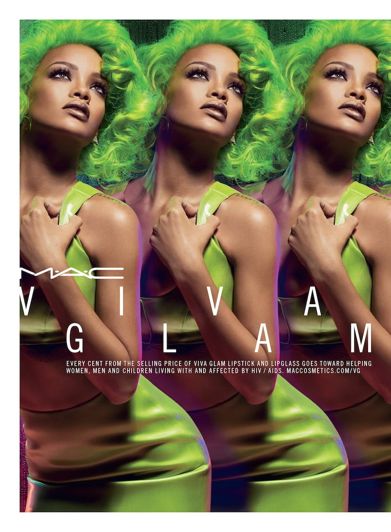 Cover Viva Glam Rihanna 2 Mac Cosmetics