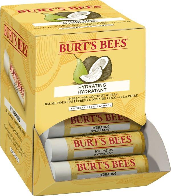 Burro cacao biologico cocco e pera Burt's Bees