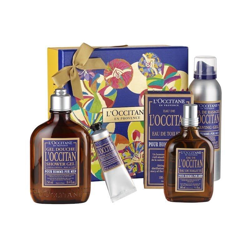 Box L'Occitan 59 € - gel doccia 250 ml, Eau de L'Occitan 100 ml, Gel depilazione 150 ml