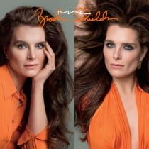Mac Cosmetics Brooke Shields