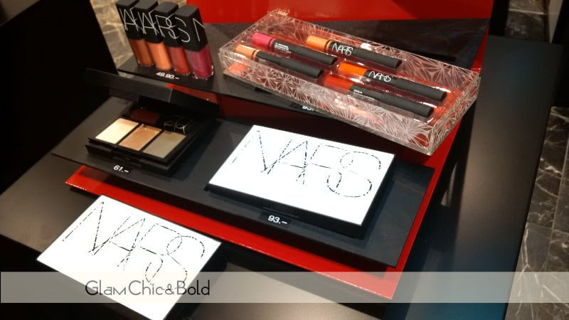 Evento Nars Cosmetics