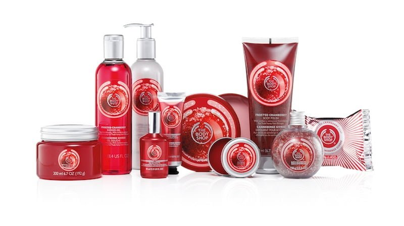 The Body Shop Mirtillo rosso glassato