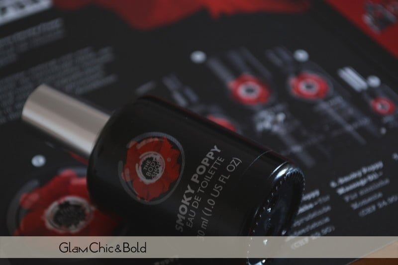 Eau de toilette Smoky Poppy The Body Shop