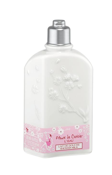 latte doccia fleurs de cerisier