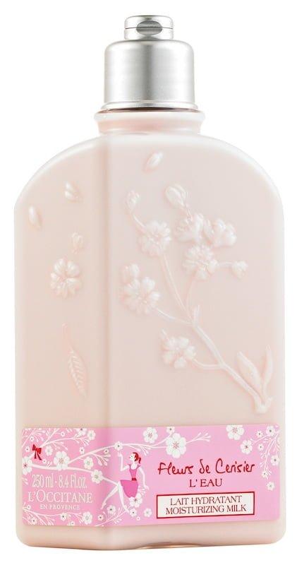 Latte idratante Fleurs de Cerisier