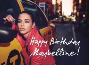 Happy Birthday Maybelline