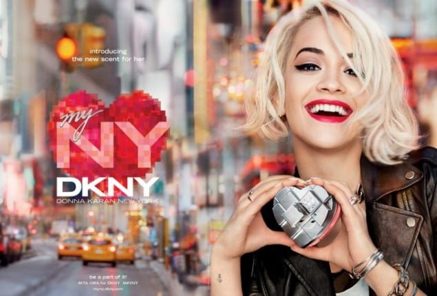 campagna pubblicitaria DKNY My Nw