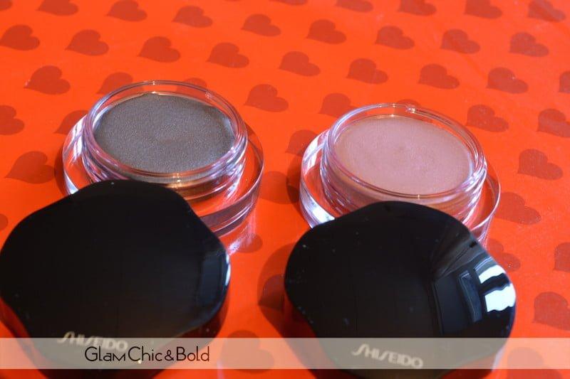 Shiseido cream eye shadows
