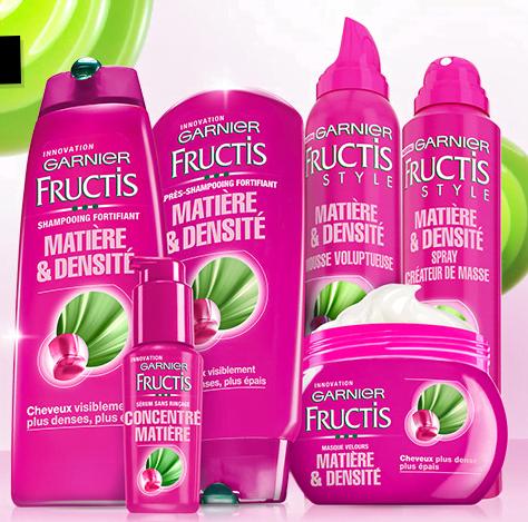 Densi e Corposi Garnier Fructis