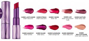 Sheer revolution lipstick