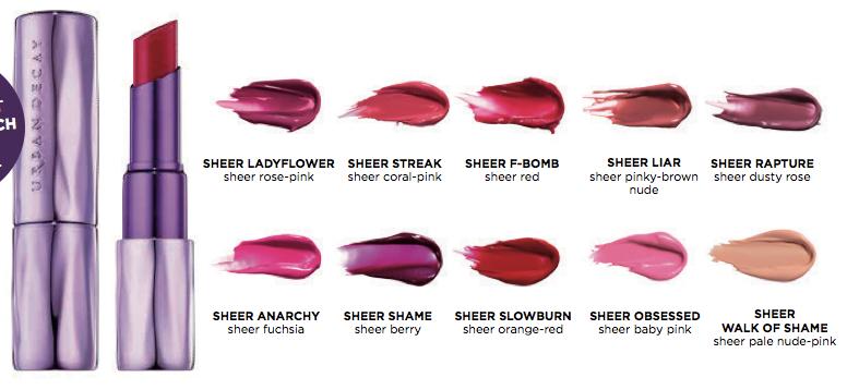 Sheer revolution lipstick UD