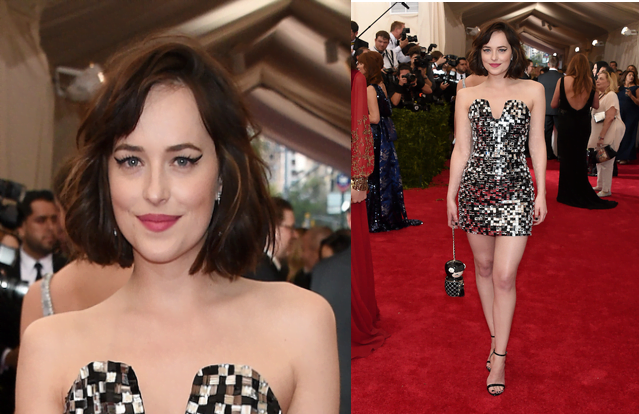 Look Dakota Johnson Met Gala 2015