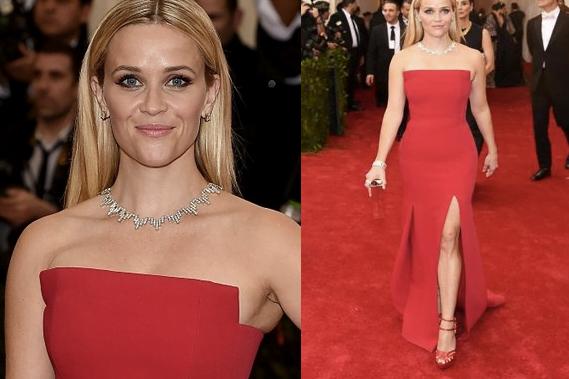Reese Witherspoon look Met Gala 2015