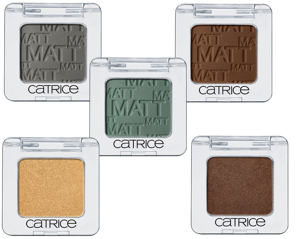 Absolute Eye Colour Mono Eyeshadow Catrice autunno Inverno 2015-2016