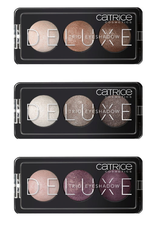Trio eyeshadows Catrice