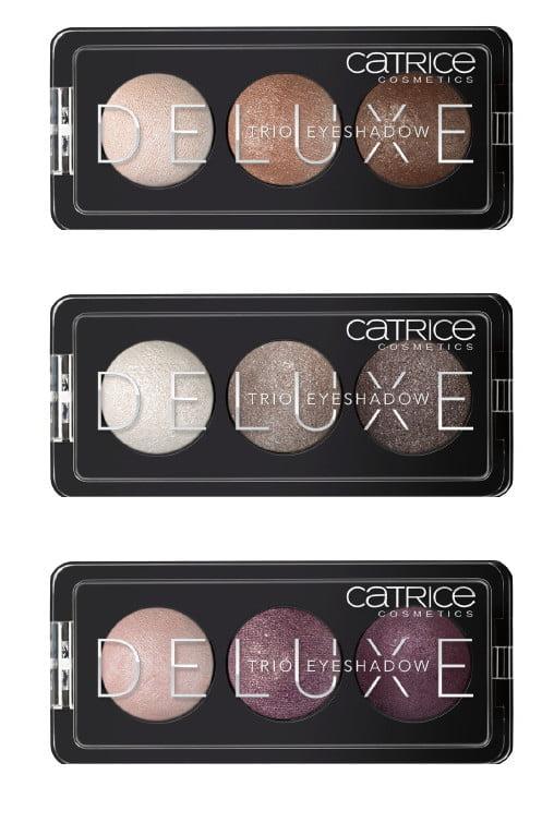 Trio eyeshadows Catrice