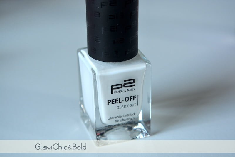 Peel-Off Base coat P2 Cosmetics