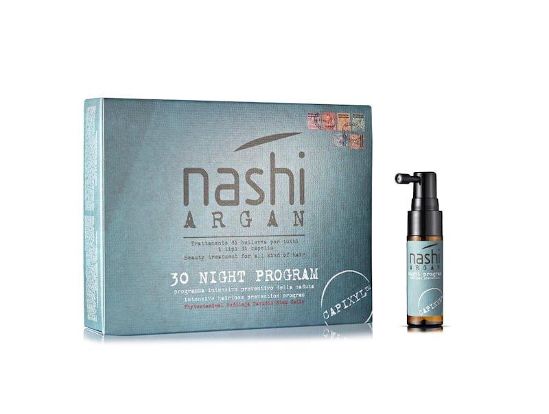 Nashi Argan capelli