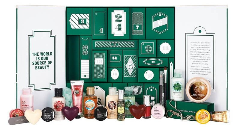 The Body Shop calendario dell'avvento