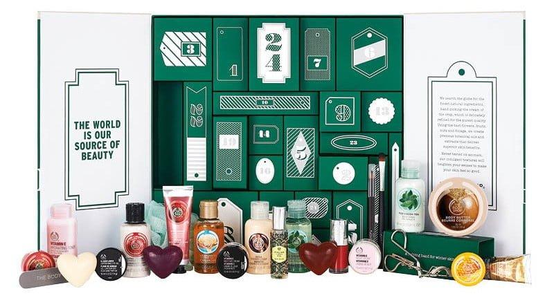 The Body Shop calendario dell'avvento