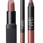 A Woman's face nude lip set