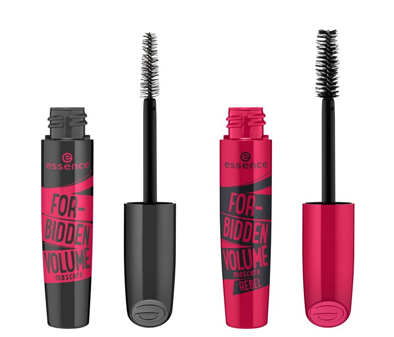 essence forbidden volume mascara / forbidden volume rebel mascara