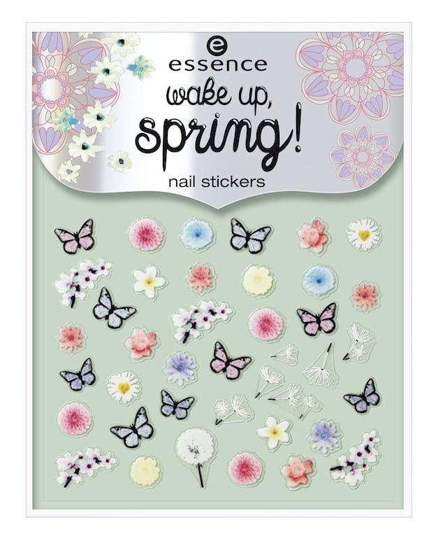 Nail Sticker essence wake up spring